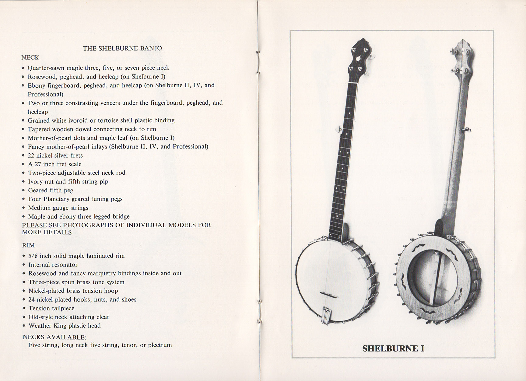 A E Smith Banjo Company Catalog page 4