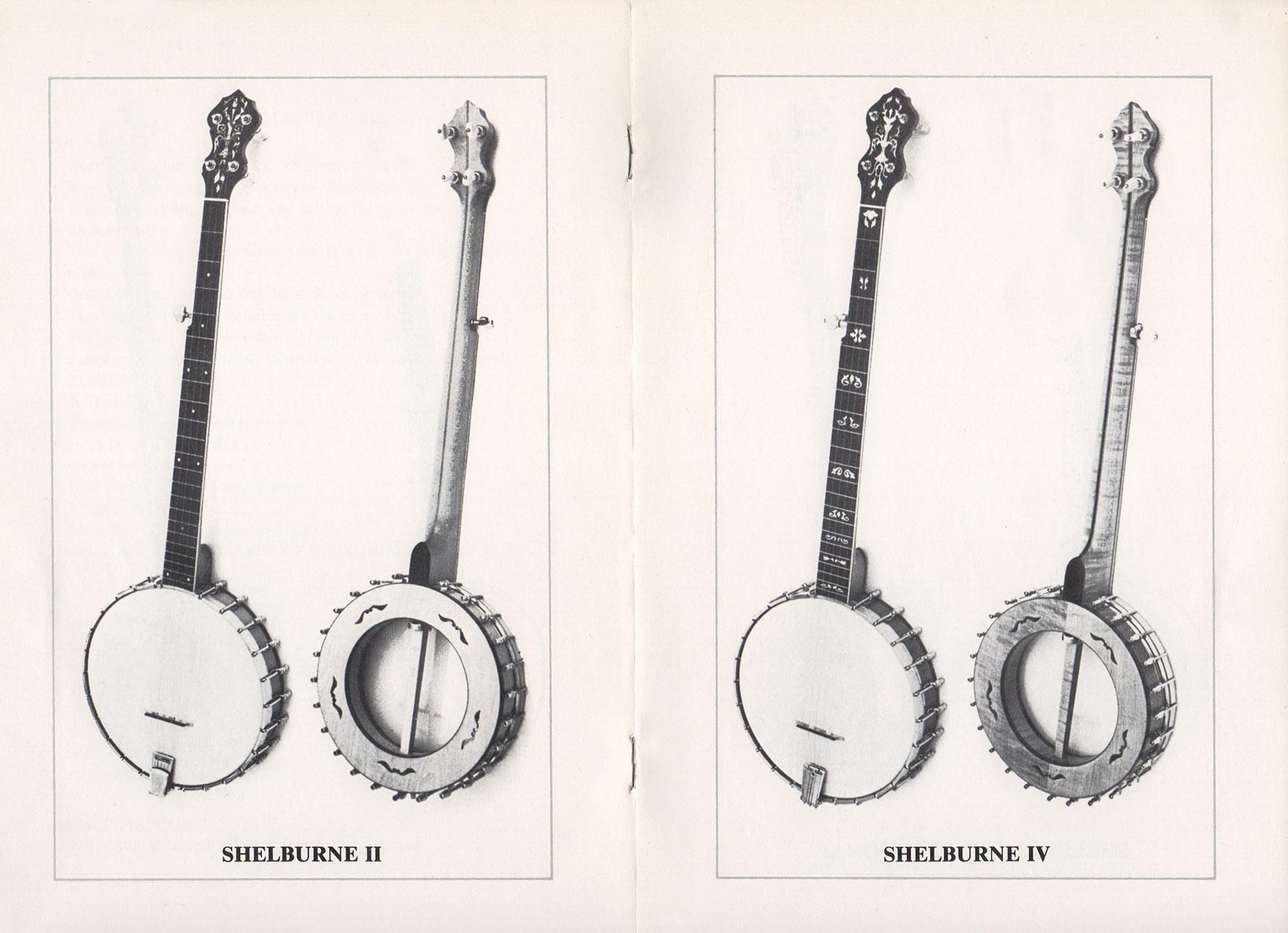 A E Smith Banjo Company Catalog page 5