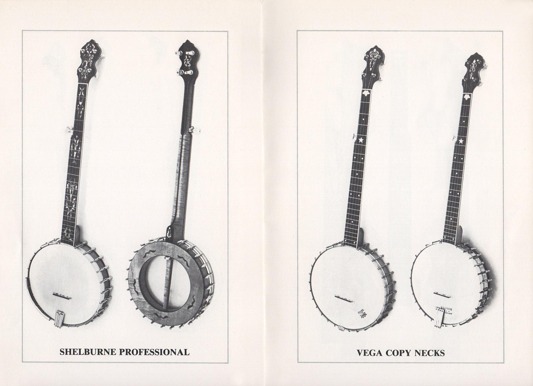 A E Smith Banjo Company Catalog page 6